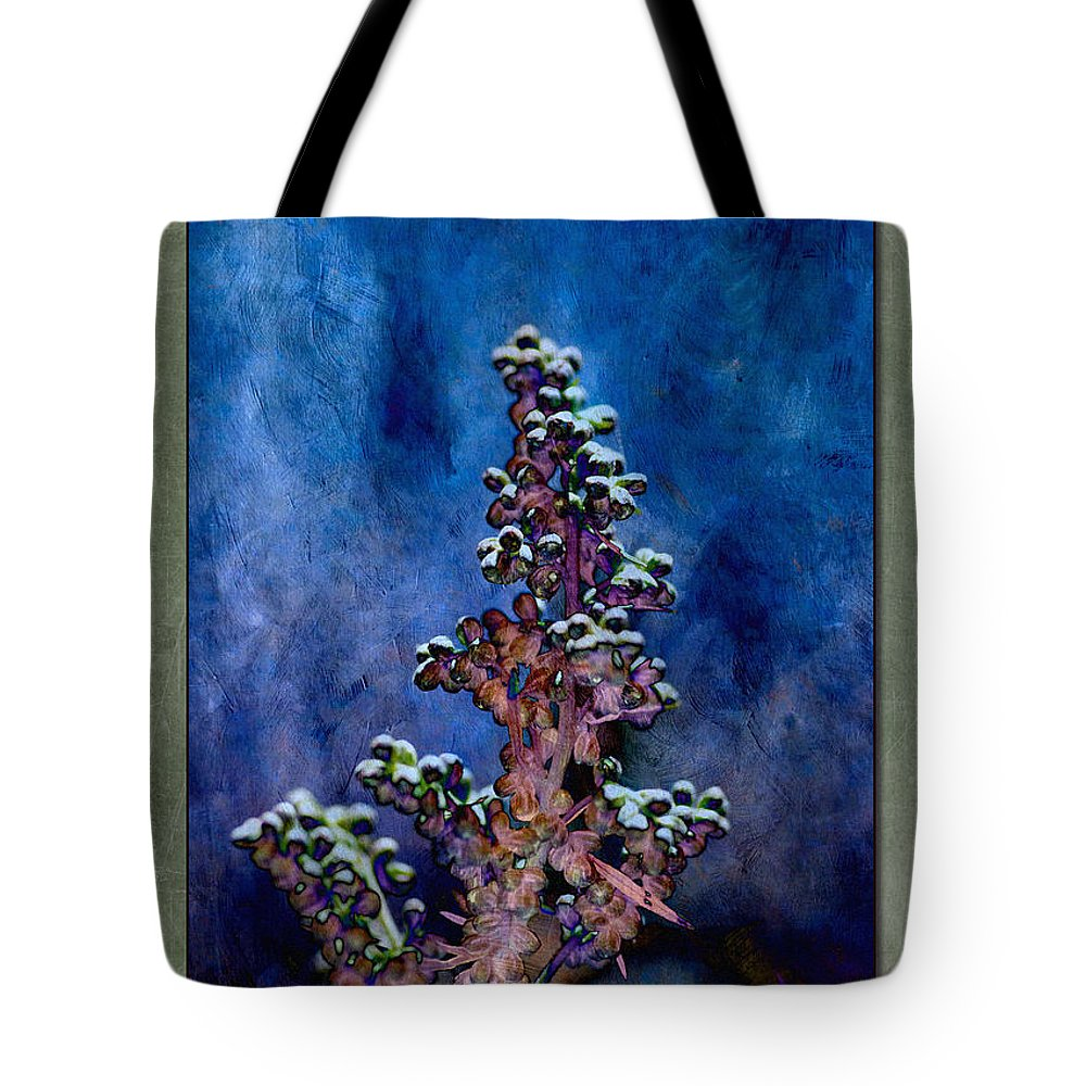 Plant Tote Bag featuring the photograph New Growth by WB Johnston