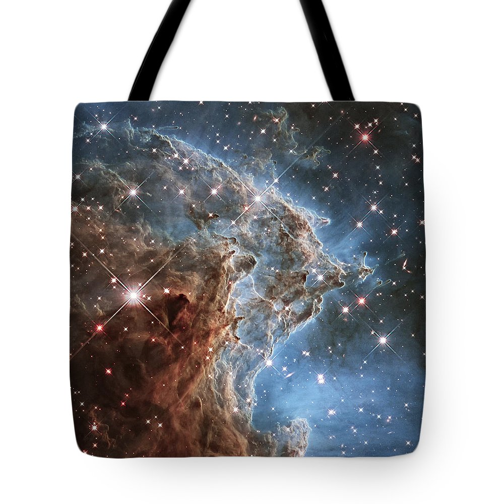 3scape Tote Bag featuring the photograph New Hubble Image Of Ngc 2174 by Adam Romanowicz