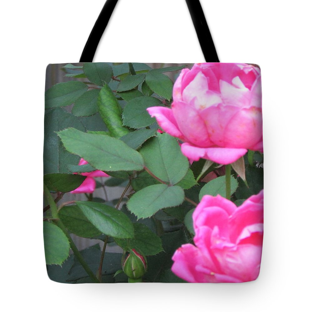 Flowers Tote Bag featuring the photograph New Life by Dawn Nickel