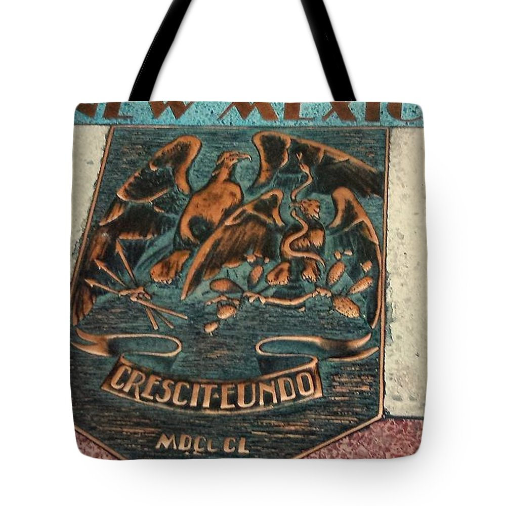 New Tote Bag featuring the photograph New Mexico Crescit Eundo by Lisa Byrne