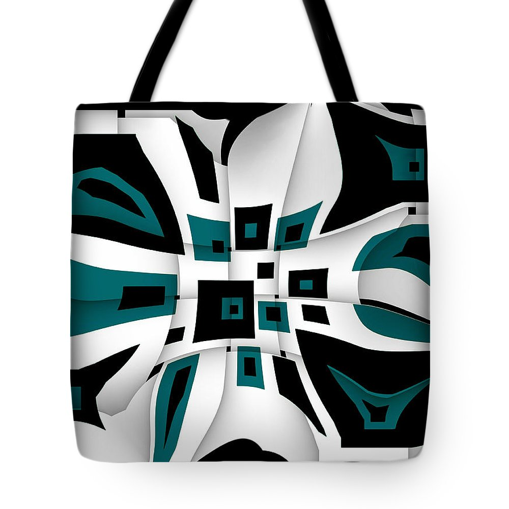 Greeting Card Tote Bag featuring the digital art New Mexico by Raul Ugarte