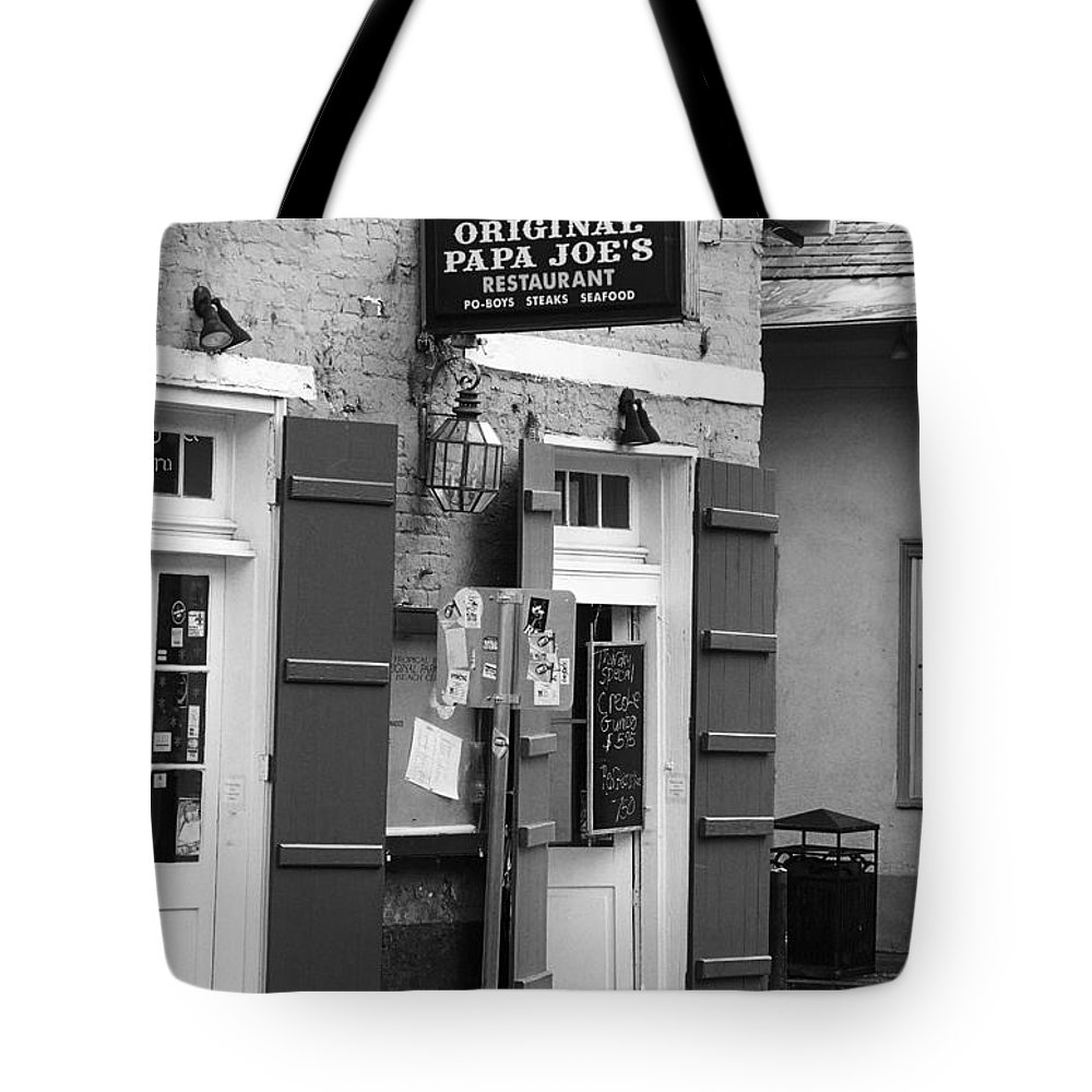 America Tote Bag featuring the photograph New Orleans - Bourbon Street 15 by Frank Romeo