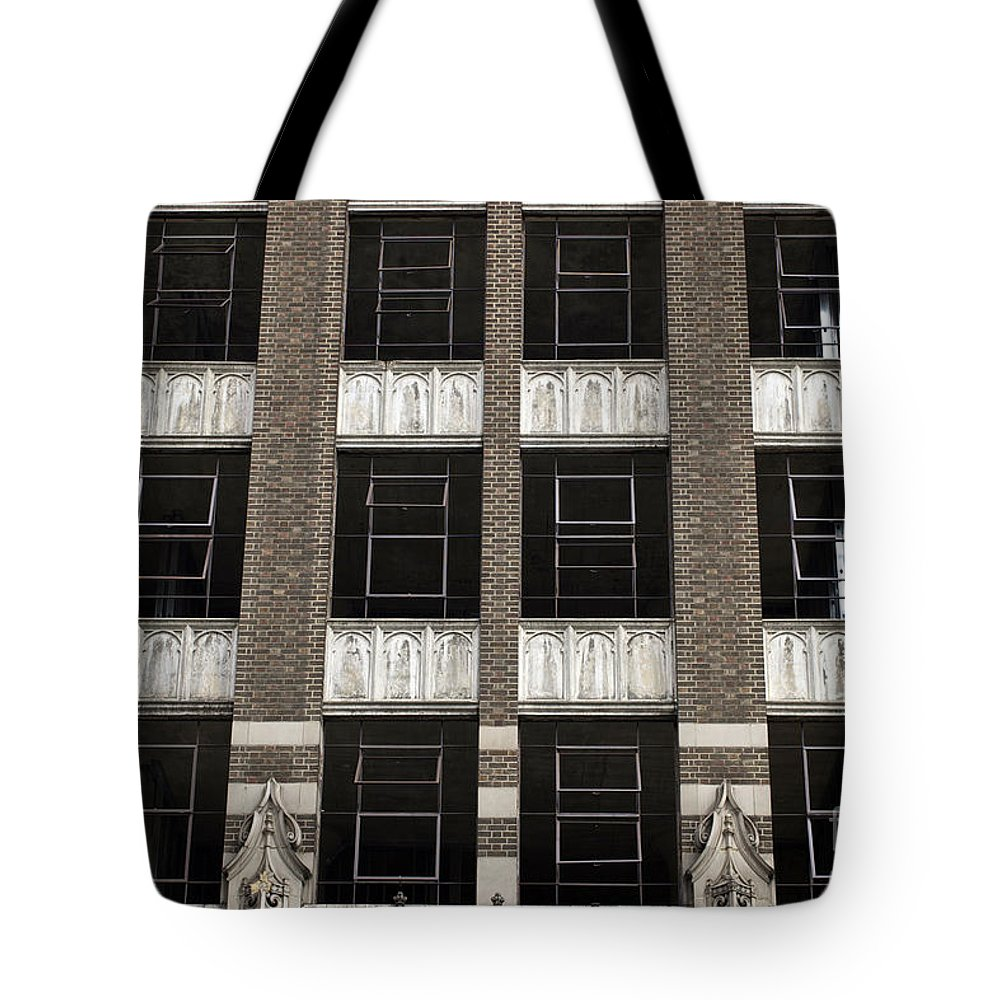 Fire Tote Bag featuring the photograph New Photographic Art Print For Sale Downtown Los Angeles 4 by Toula Mavridou-Messer