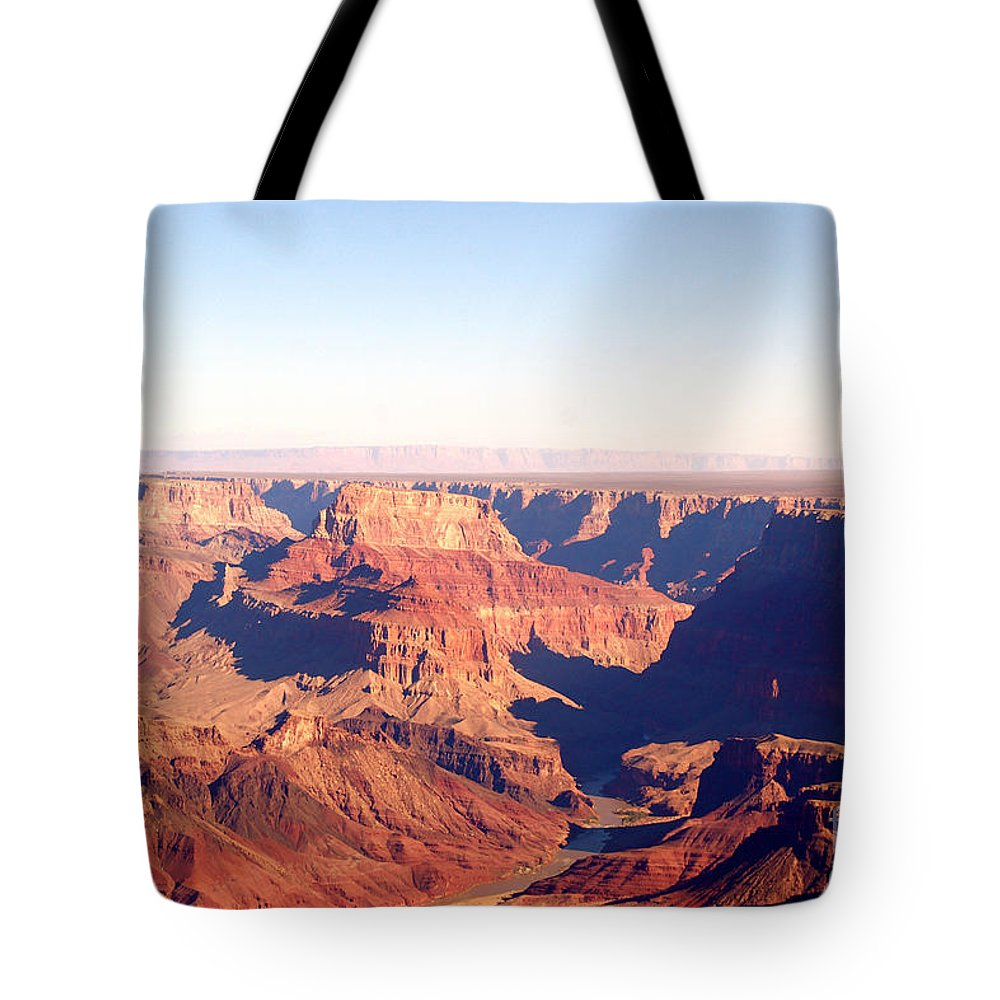 Canyon Tote Bag featuring the photograph New Photographic Art Print For Sale Grand Canyon 2 by Toula Mavridou-Messer