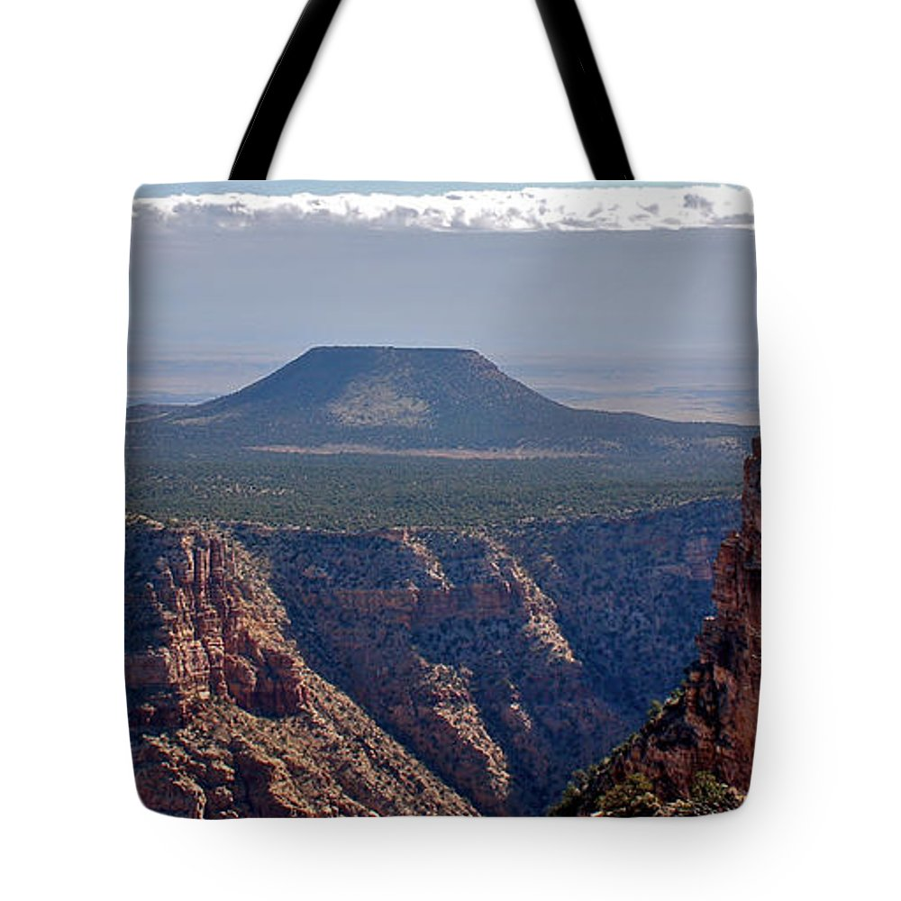 Canyon Tote Bag featuring the photograph New Photographic Art Print For Sale Grand Canyon by Toula Mavridou-Messer