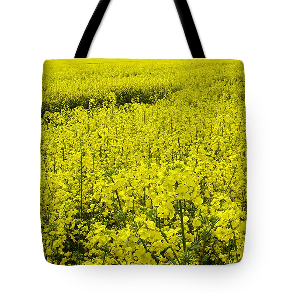 Nature Tote Bag featuring the photograph New Photographic Art Print For Sale Yellow English Fields 4 by Toula Mavridou-Messer