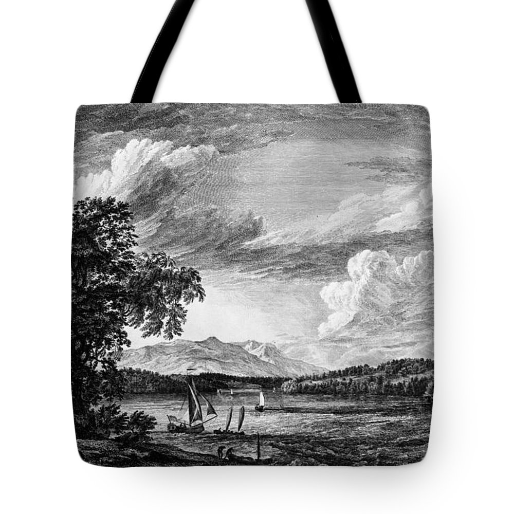 1761 Tote Bag featuring the painting New York Poughkeepsie by Granger