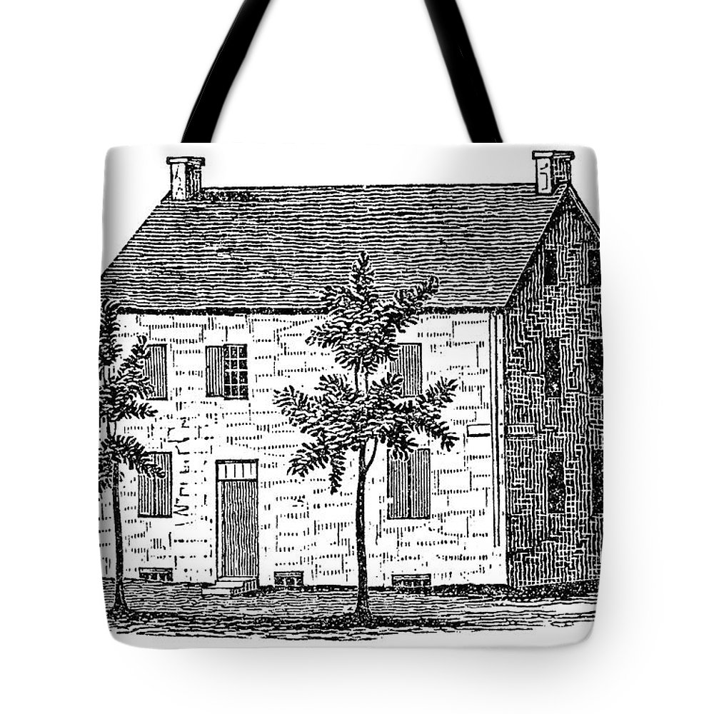 1777 Tote Bag featuring the painting New York Senate, 1777 by Granger