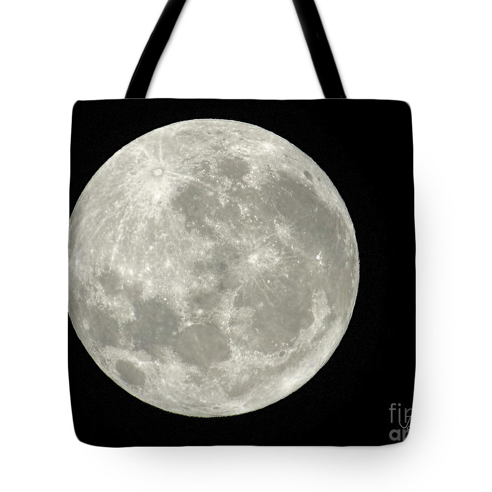 Moon Tote Bag featuring the photograph New Zealand Moon by Jennie Breeze