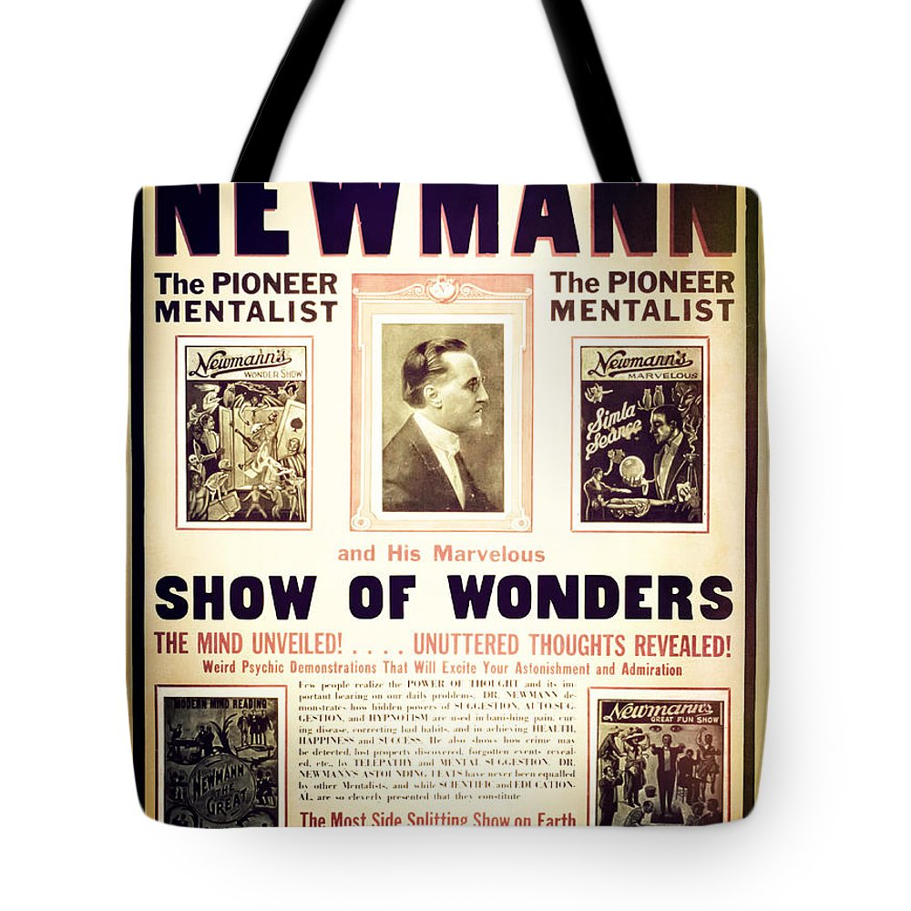 Magic Tote Bag featuring the photograph Newmann And His Show Of Wonders by Jennifer Rondinelli Reilly - Fine Art Photography