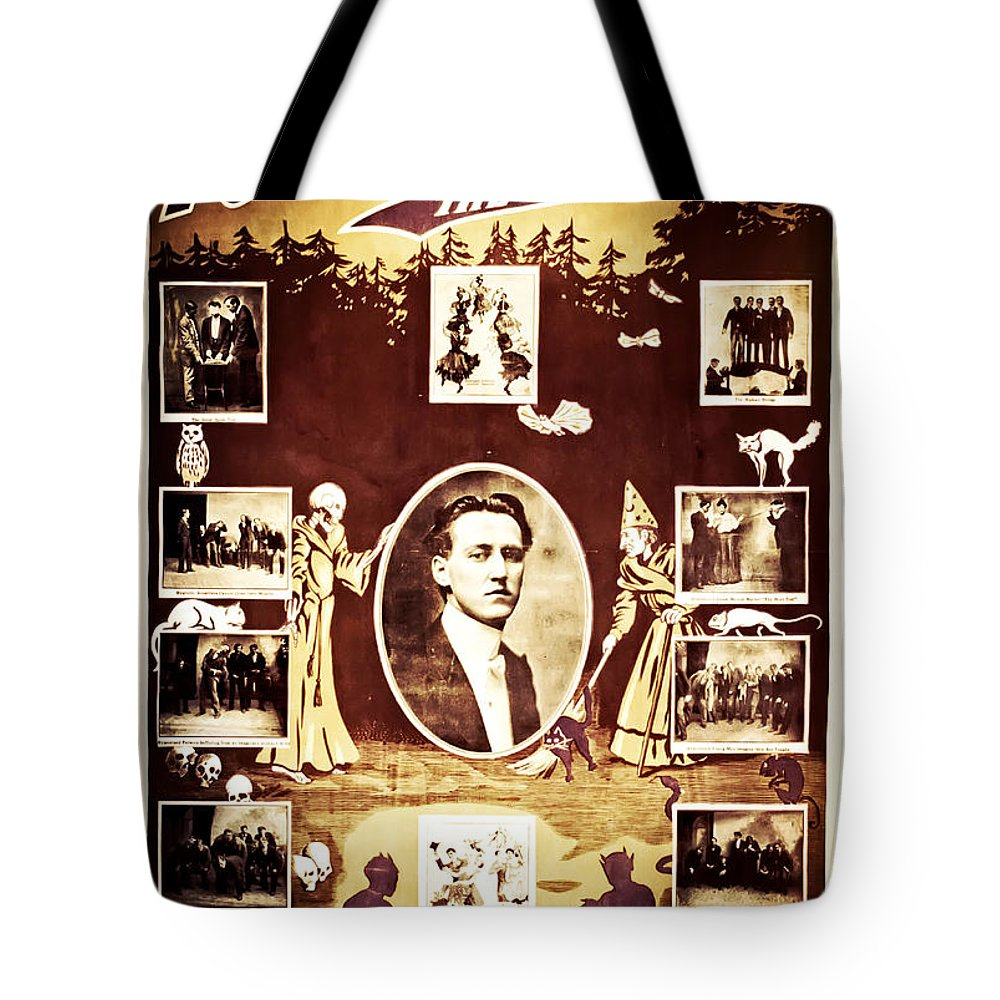 Magic Tote Bag featuring the photograph Newmann The Great by Jennifer Rondinelli Reilly - Fine Art Photography