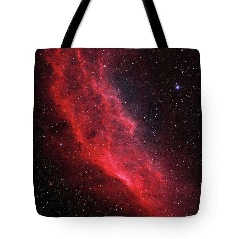 Vertical Tote Bag featuring the photograph Ngc 1499, The California Nebula by Lorand Fenyes