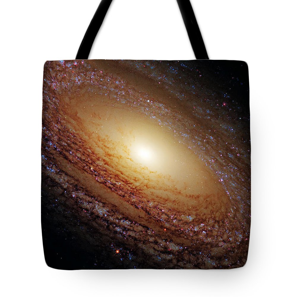 Outer Tote Bag featuring the photograph Ngc 2841 by Ricky Barnard