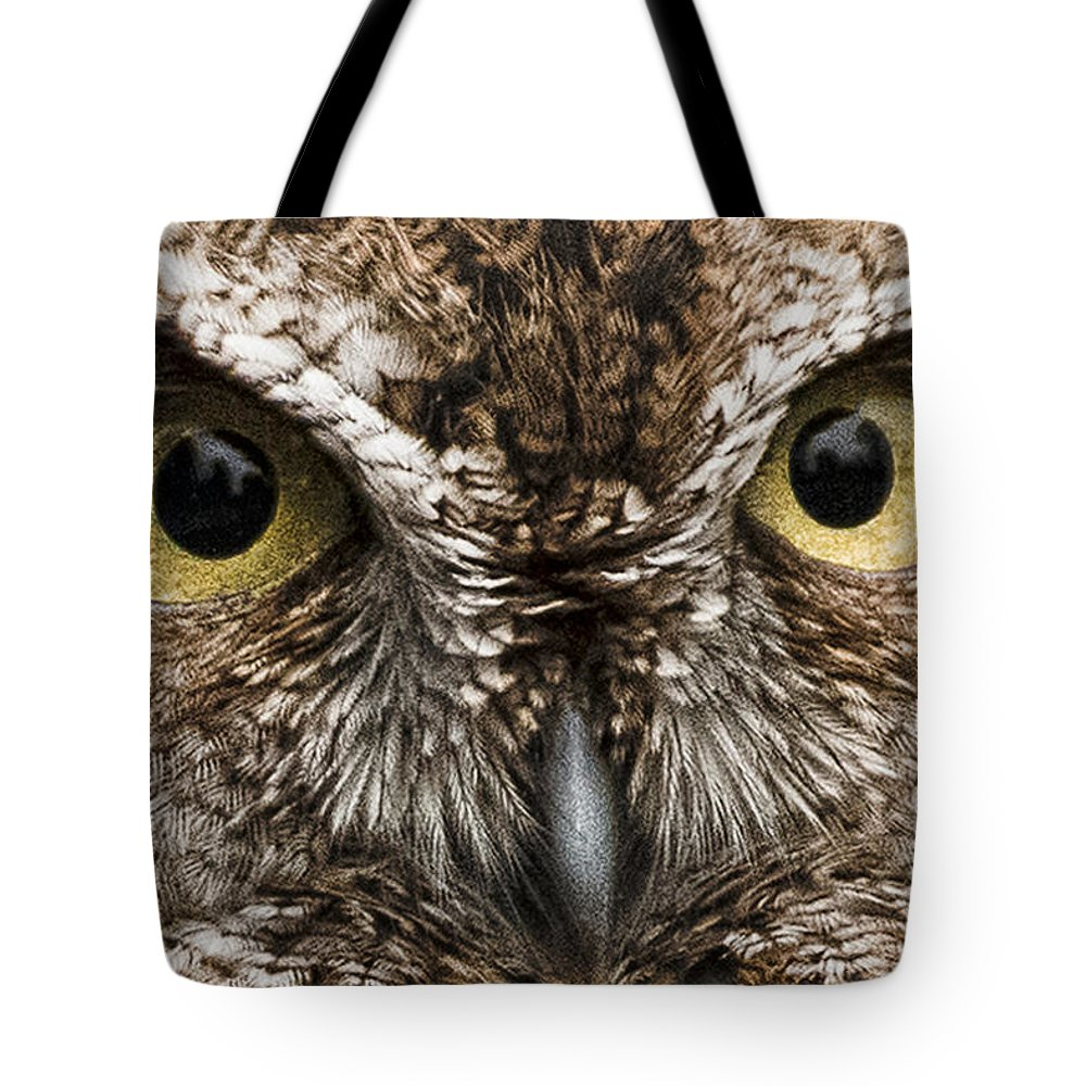 Nice Eyes Tote Bag featuring the photograph Nice Eyes by Wes and Dotty Weber