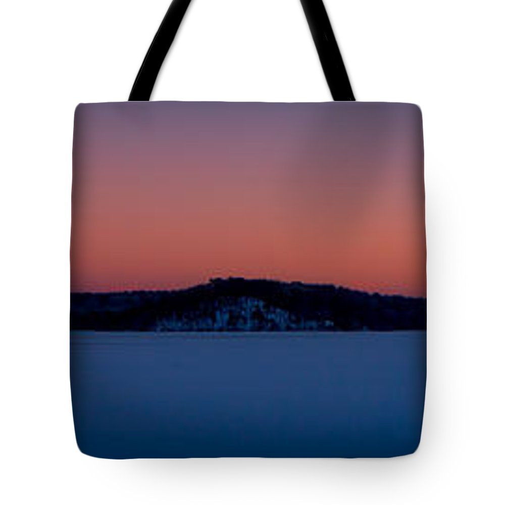 Landscape Tote Bag featuring the photograph Nickerson State Park by Jose Cruz