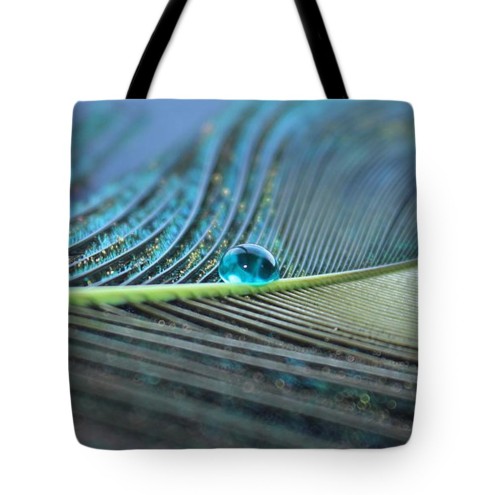 Feather Tote Bag featuring the photograph Night Fall by Krissy Katsimbras
