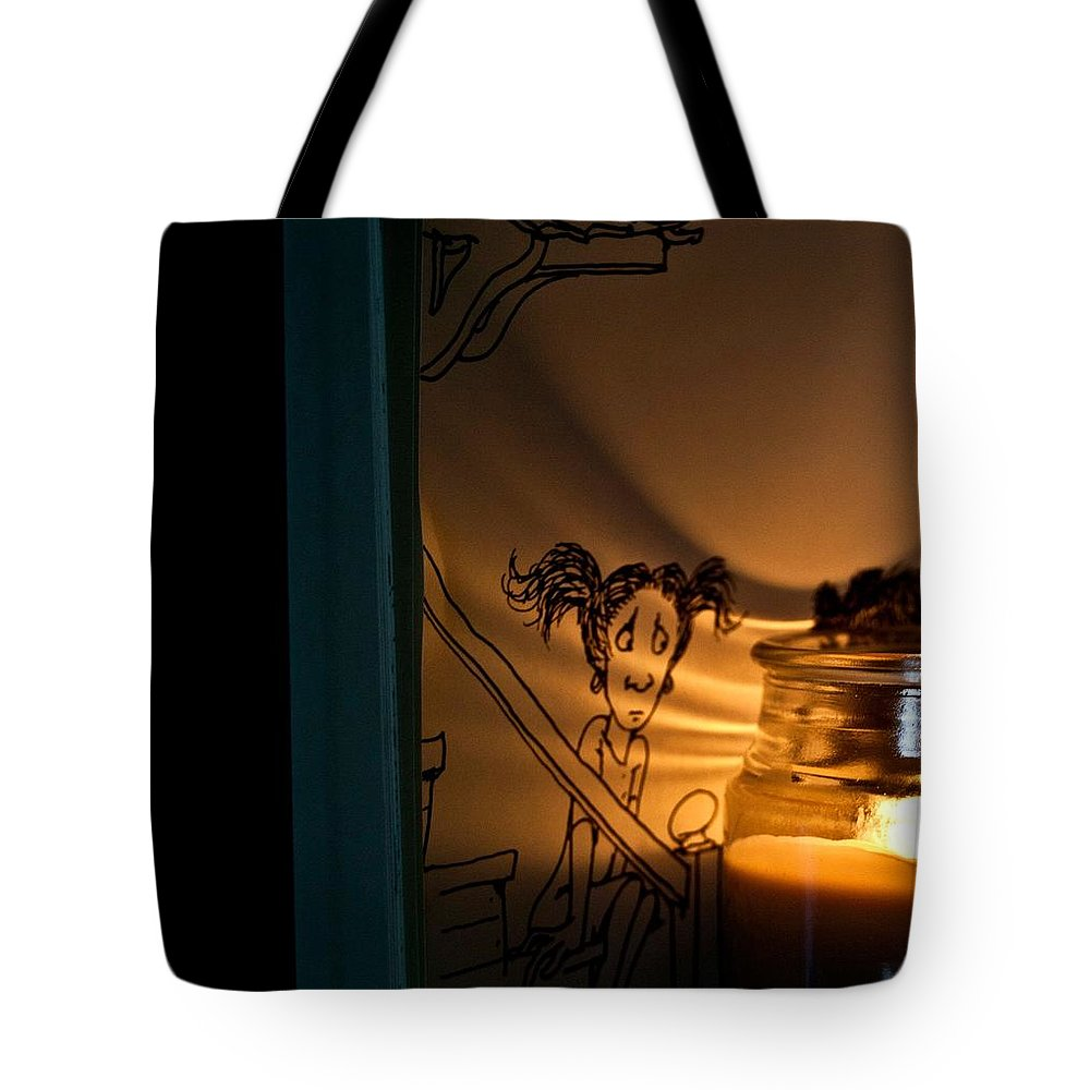 Night Light Tote Bag featuring the photograph Night Light by Kathleen Odenthal