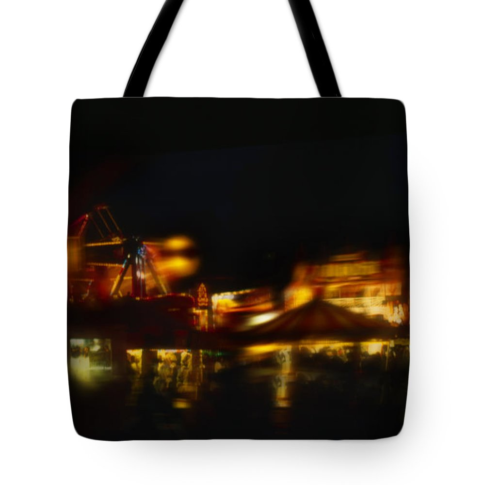 Tote Bag featuring the painting Night Moves by Charles Stuart
