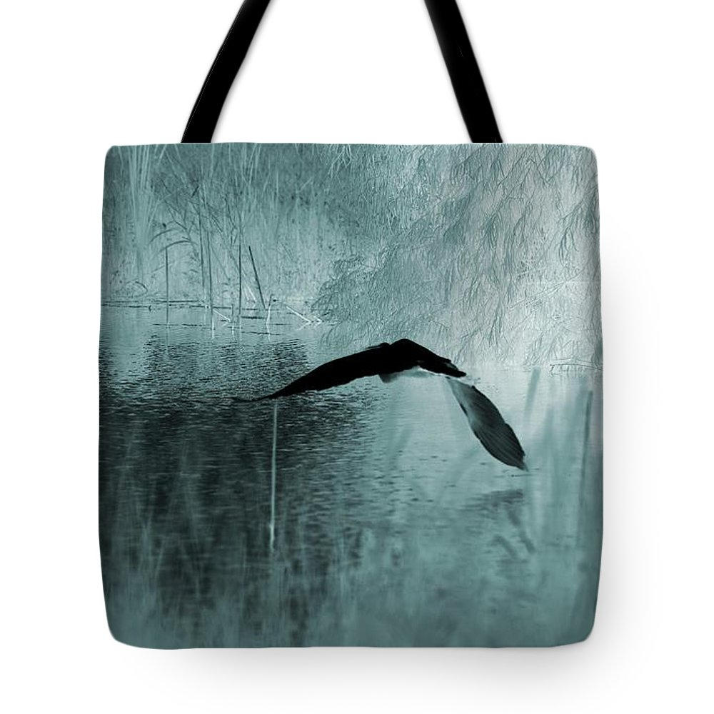 Night Moves Tote Bag featuring the photograph Night Moves by Maria Urso