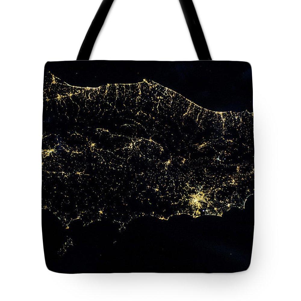 Tyrrhenian Sea Tote Bags