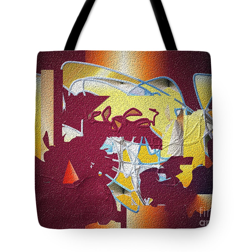 Tote Bag featuring the digital art No. 626 by John Grieder