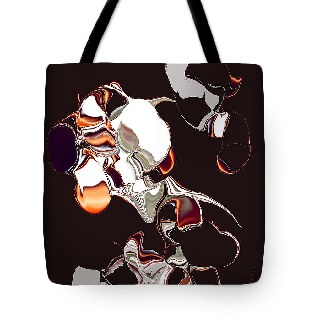 Tote Bag featuring the digital art No. 629 by John Grieder