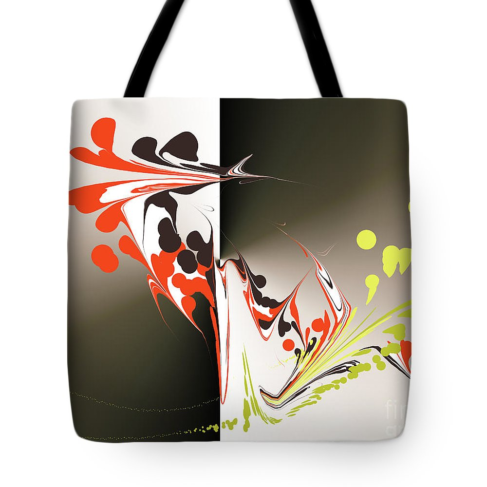 Tote Bag featuring the digital art No. 641 by John Grieder