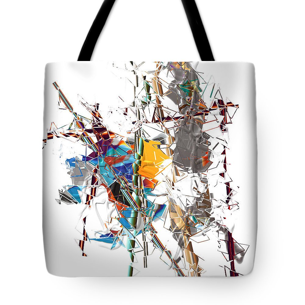 Tote Bag featuring the digital art No. 645 by John Grieder