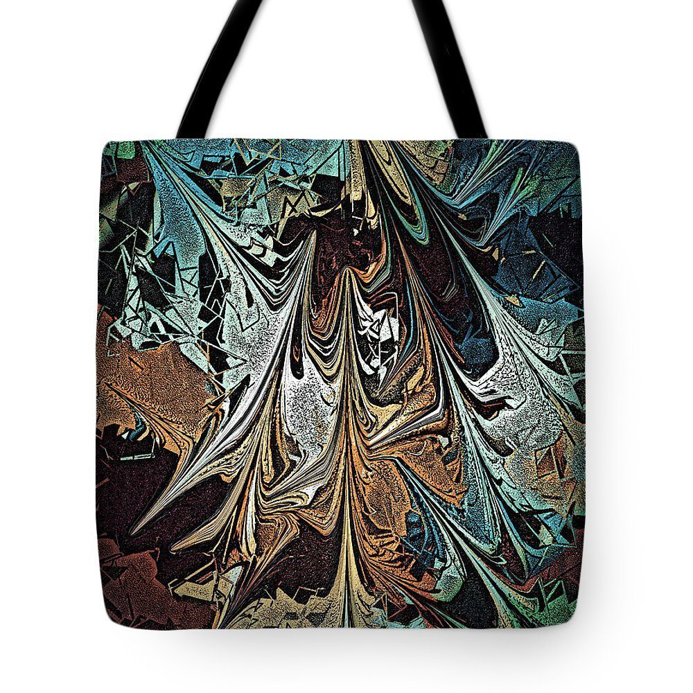 Tote Bag featuring the digital art No. 753 by John Grieder
