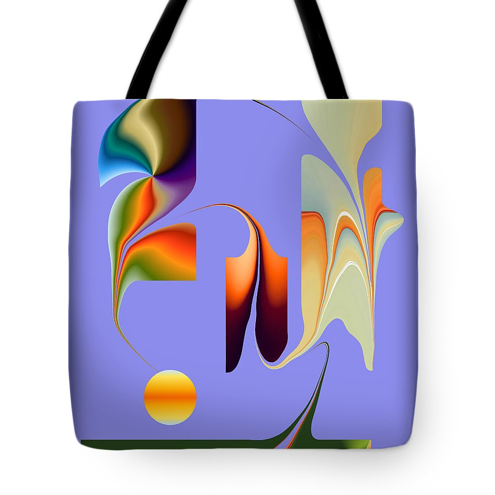 Tote Bag featuring the digital art No. 812 by John Grieder