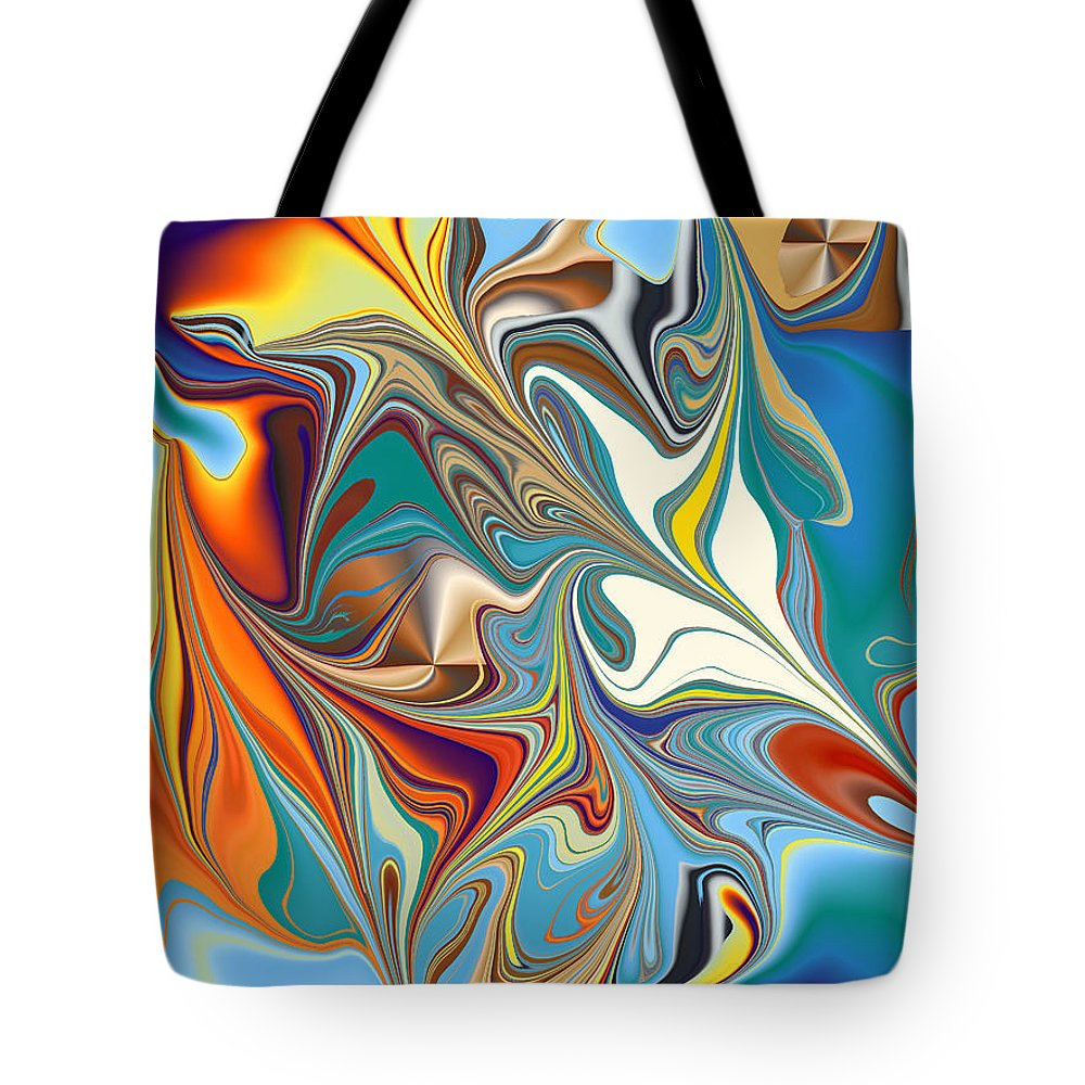 Tote Bag featuring the digital art No. 816 by John Grieder