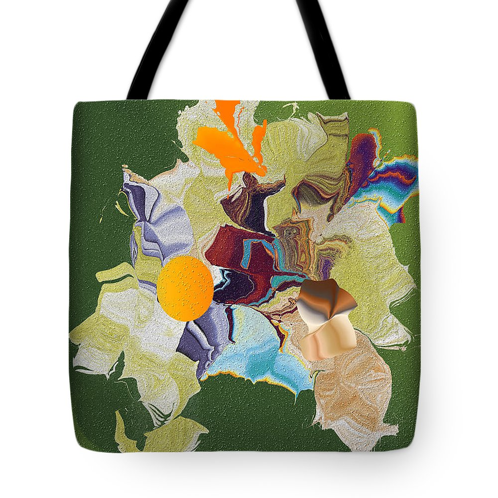 Tote Bag featuring the digital art No. 819 by John Grieder