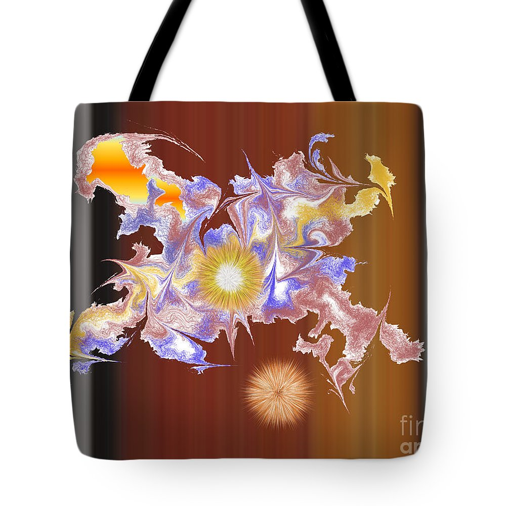 Tote Bag featuring the digital art No. 828 by John Grieder