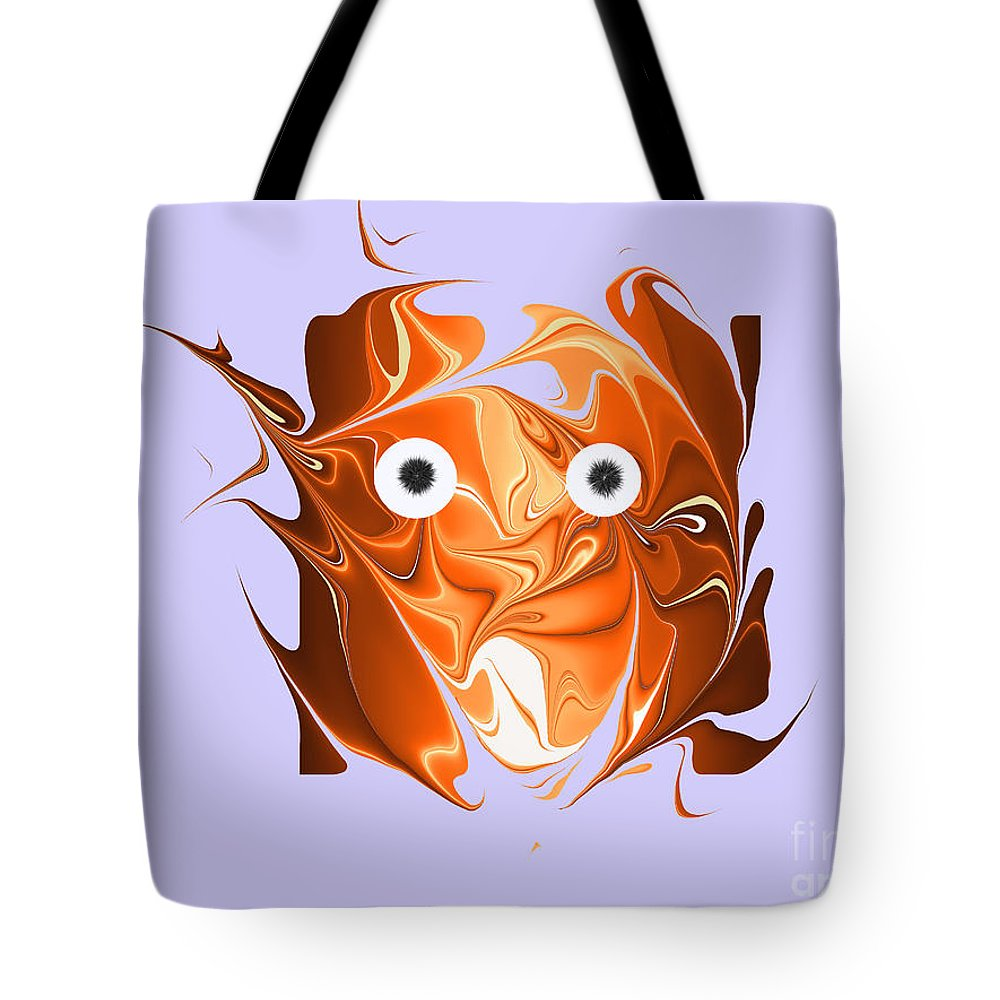 Tote Bag featuring the digital art No. 831 by John Grieder