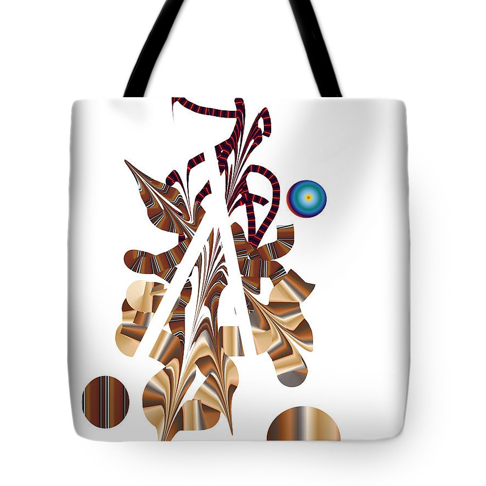 Tote Bag featuring the digital art No. 833 by John Grieder