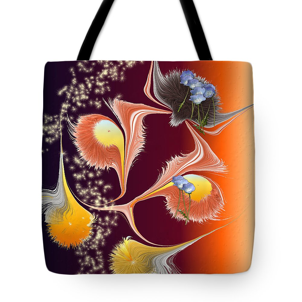 Tote Bag featuring the digital art No. 835 by John Grieder