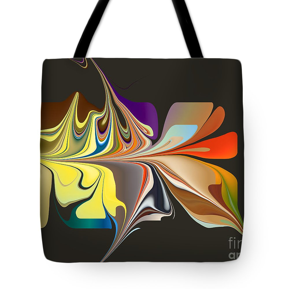 Tote Bag featuring the digital art No. 838 by John Grieder