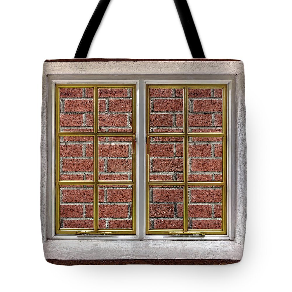 Architecture Tote Bag featuring the photograph No View by Semmick Photo