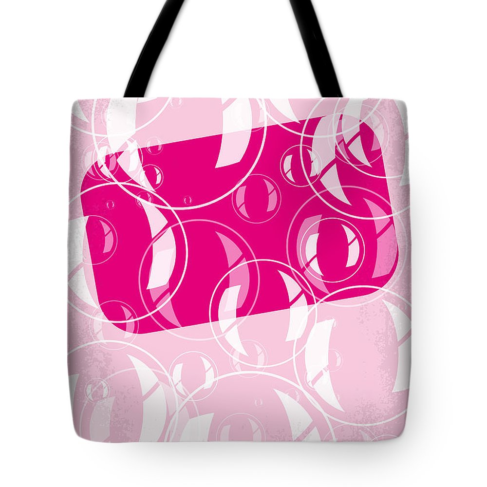 Fight Tote Bag featuring the digital art No027 My Fight Club Minimal Movie Poster by Chungkong Art