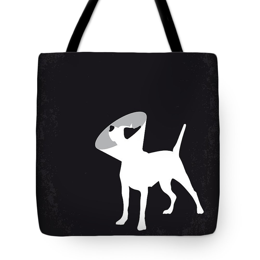 Snatch Tote Bag featuring the digital art No079 My Snatch minimal movie poster by Chungkong Art