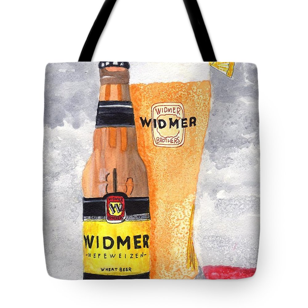 Kitchen Art Tote Bag featuring the painting No.1 In Series Of Barbecue And Kitchen Art by Connie Valasco