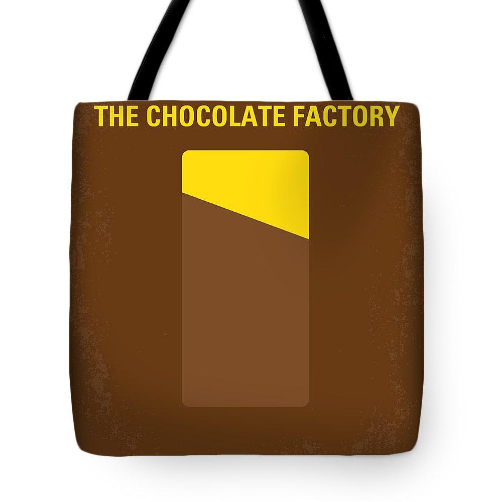 Industrial Digital Art Tote Bags
