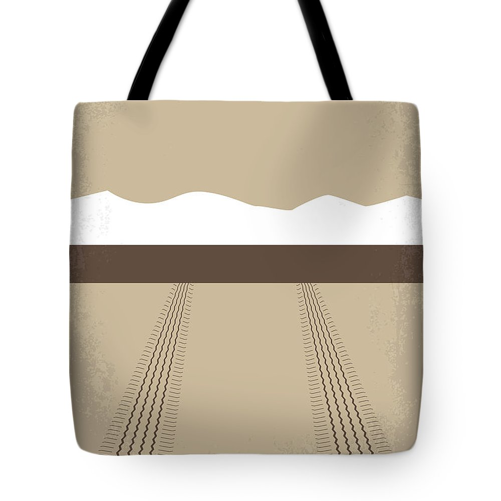 Thelma Tote Bag featuring the digital art No189 My Thelma and Louise minimal movie poster by Chungkong Art