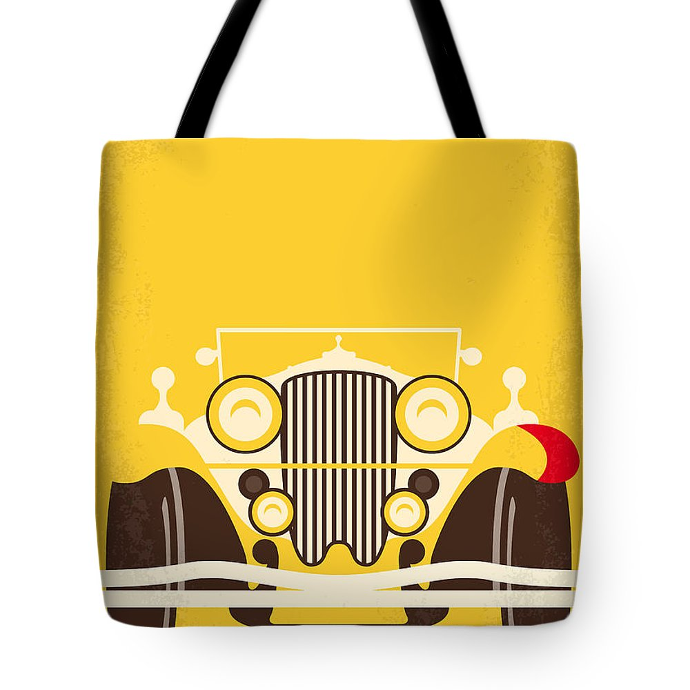 The Tote Bag featuring the digital art No206 My The Great Gatsby minimal movie poster by Chungkong Art