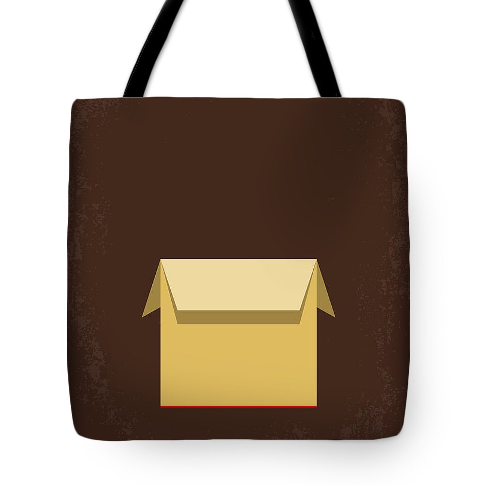 Seven Tote Bag featuring the digital art No233 My Seven Minimal Movie Poster by Chungkong Art