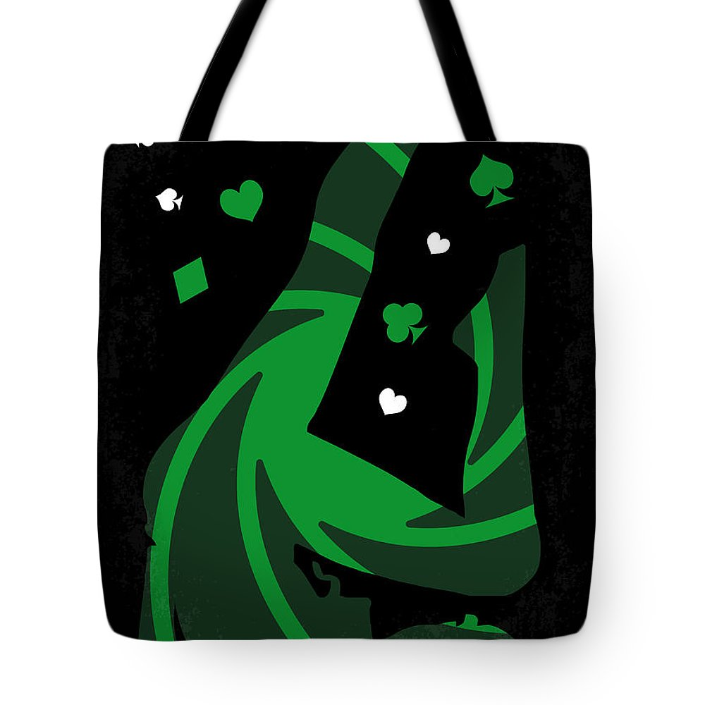 Casino Tote Bag featuring the digital art No277-007-2 My Casino Royale Minimal Movie Poster by Chungkong Art