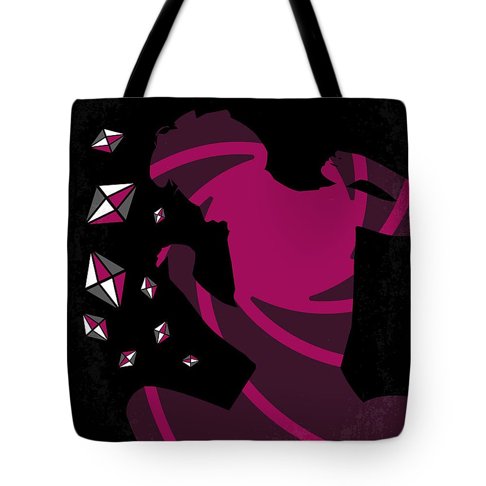 Diamonds Tote Bag featuring the digital art No277-007 My Diamonds Are Forever Minimal Movie Poster by Chungkong Art
