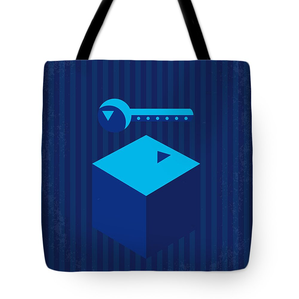 3e48ec4db Mulholland Tote Bag featuring the digital art No323 My Mulholland Drive  Minimal Movie Poster by Chungkong
