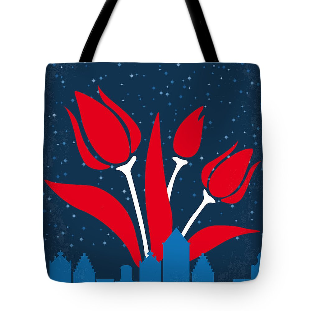 The Tote Bag featuring the digital art No340 My The Fault In Our Stars Minimal Movie Poster by Chungkong Art