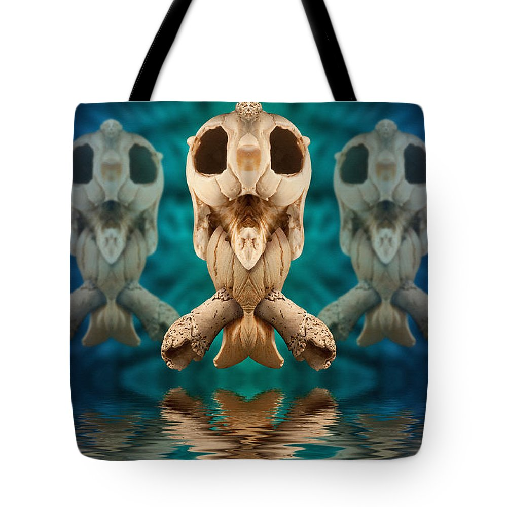 Alien Tote Bag featuring the photograph None R 9 2 by WB Johnston